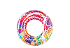 Надувной круг для плавания BESTWAY 36084  91см 10+  синий и красный, фото 3