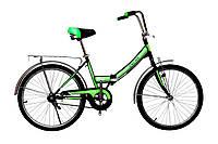 """Велосипед Titan Десна 24""""16"""" Чёрный-Зелёный"""