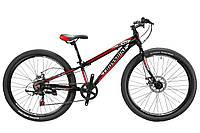"""Велосипед Cross Blast 26""""11"""" Чёрный-Серебро-Красный"""
