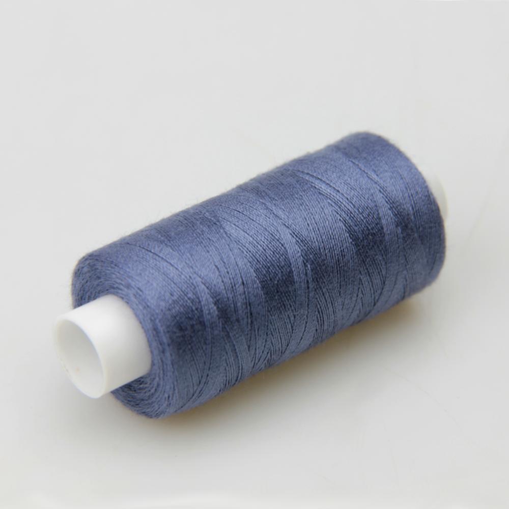 Нитки швейные 40/2 Kiwi 400 ярдов тон 333 джинсовый (индиго)