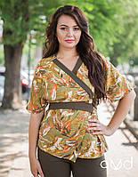 Женская блуза лен разные цвета