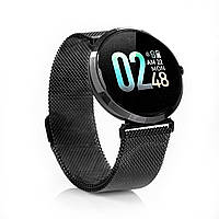 Smart Watch умные смарт часы FITUP black фитнес браслет. Фитнес трекер