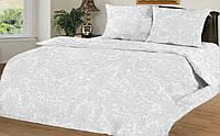 Двуспальный с Европростыней Комплект постельного белья IMAN Перкаль,   Постільна білизна