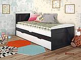 """Дитяче ліжко з натурального дерева """"Компакт"""" Арбор, фото 3"""