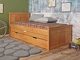"""Дитяче ліжко з натурального дерева """"Компакт"""" Арбор, фото 5"""