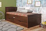 """Дитяче ліжко з натурального дерева """"Компакт"""" Арбор, фото 4"""