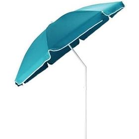 Зонт пляжный 2.0/1.85 метра с наклоном, клапаном антиураган и тканевым куполом