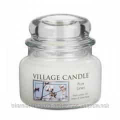 Арома свеча Village Candle Чистота хлопка (время горения до 55 ч)