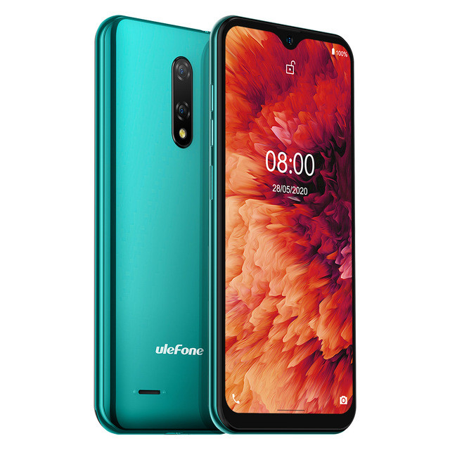 Ulefone Note 8P green