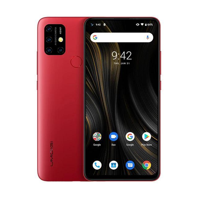 Cмартфон Umidigi Power 3 red