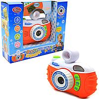 Развивающая игрушка Play Smart Фотоаппарат: обучение, игры, эффекты, 4 функции, вращающийся объектив, звук