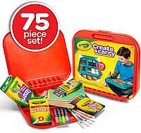 Арт Набор Крайола 75 предметов Crayola Create 'N Carry Art Set