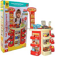 Игровой набор «Магазин-прилавок» (весы, сканер, свето-звуковые эффекты) 51х21х82 см (922-20)