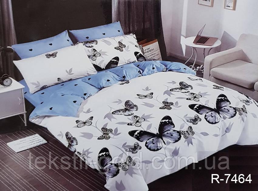 Евро комплект постельного белья с компаньоном R7464 ренфорс