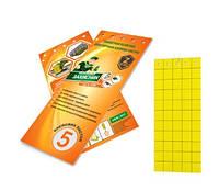 Клейкая ловушка для насекомых сада и огорода Защитник, 5 шт, Ukravit, Средства для борьбы с вредителями