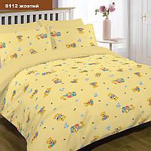 Постельное белье для малышей в кроватку 6112 желтый Viluta