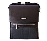 Стильная мужская черная сумка Armani
