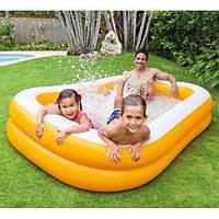 Большой детский надувной бассейн Intex Mandarin 57181 NP 229х147х46см