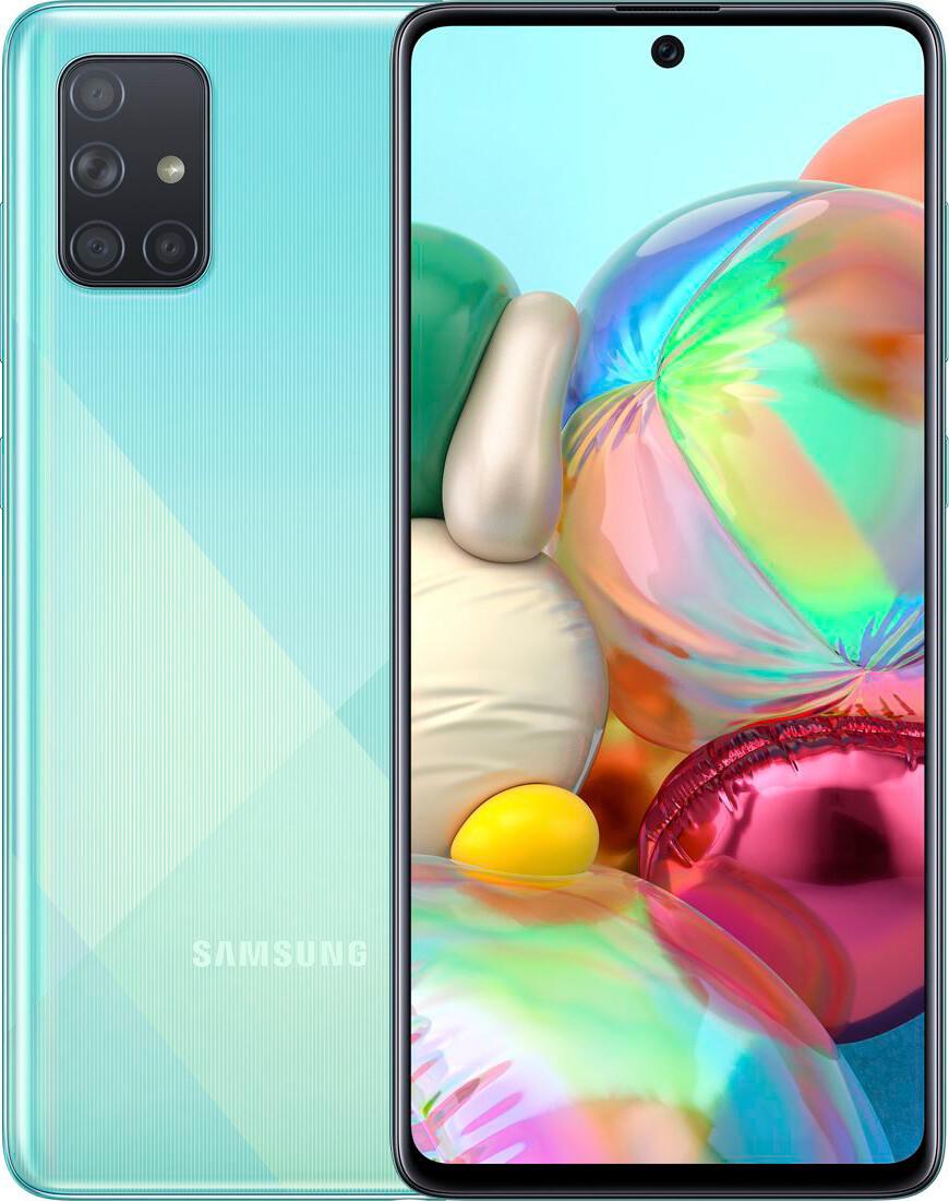Смартфон Samsung A715F ZBU Blue
