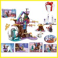 """Детский конструктор Disney Frosen """"Заколдованный домик на дереве"""" (378 деталей)"""
