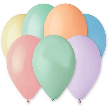 Воздушные шары GEMAR 10 (26см) Пастель Ассорти MACARON от 1 шт