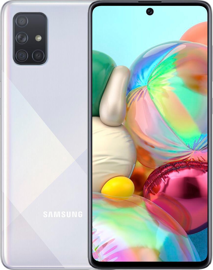 Смартфон Samsung A715F ZBU Silver