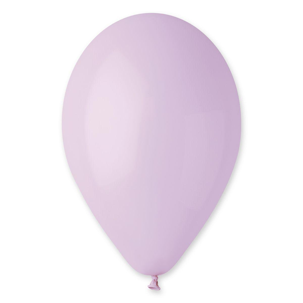 Воздушные шары GEMAR 10/79 (26см) Пастель Сирень от 1 шт