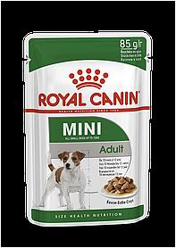 Royal Canin Adult Mini 0,085 кг — Для собак дрібних порід від 10 місяців до 12 років