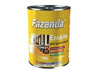 Эмаль ПФ-266 для пола Fazenda красно-коричневая 0,9 кг