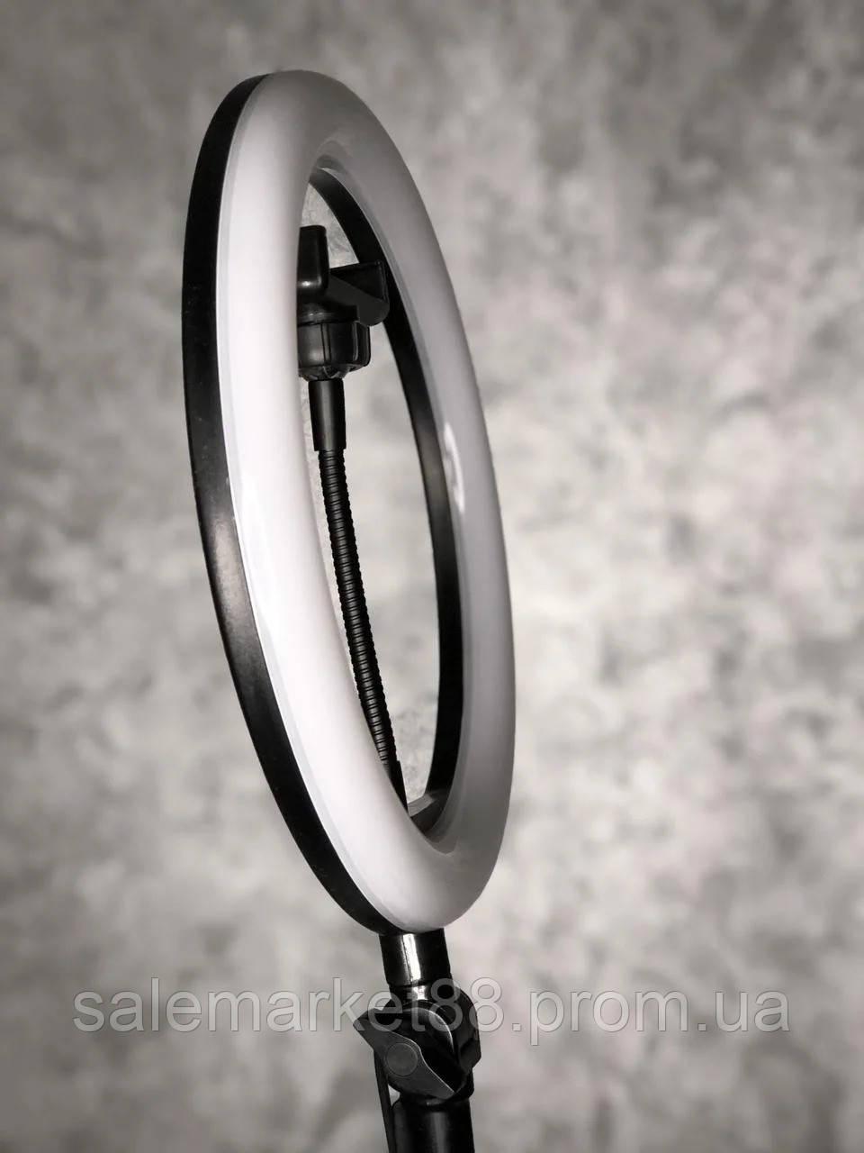 Кольцевая светодиодная лампа LED  А-3 (диаметр 26 cм) для детальной съемки