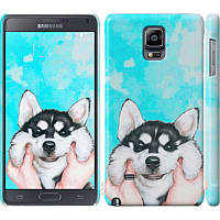 Чехол на Samsung Galaxy Note 4 N910H Улыбнись (4276c-64) - Чехлы для Самсунг Galaxy Note 4 N910H