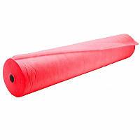 Простыни Panni Mlada® 0,6х100 м (1 рул) из спанбонда 20 г/м², красный
