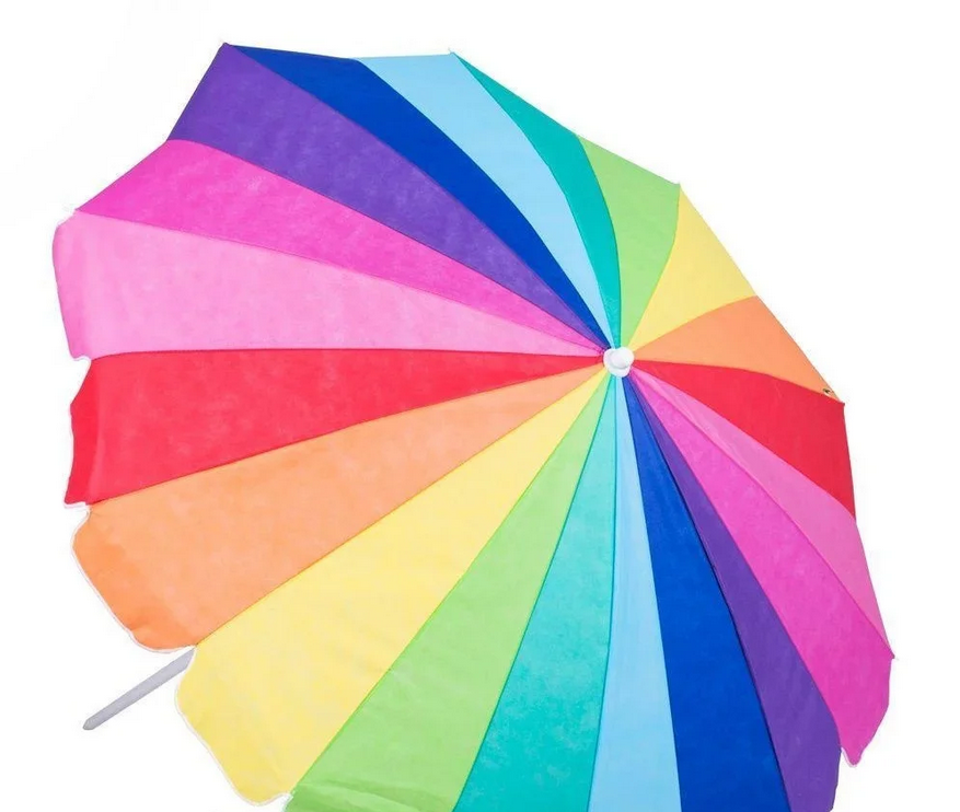 Зонт пляжний складаний