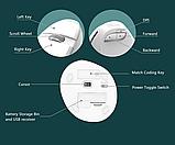 Бездротова вертикальна миша Delux M618 Mini GX Білий, фото 5