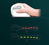 Бездротова вертикальна миша Delux M618 Mini GX Білий, фото 8