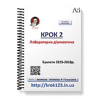 Крок 2. Лабораторная диагностика. Буклеты 2015-2018 . Для украинцев украиноязычных. Формат А5