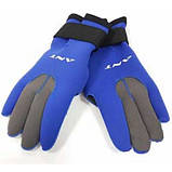 Неопреновые перчатки для дайвинга 3 мм ANT W-903, фото 4