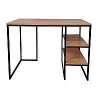 Стол письменный GoodsMetall из металла с полками в стиле Лофт 1100х700х770 СП103