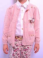Костюм дитячий для дівчинки на літо, бкзрукавка + лосини. Меркидс 247, фото 1