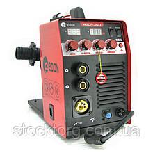 Зварювальний напівавтомат (інверторний) Edon MIG-350 (+MMA)