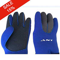 Неопреновые перчатки для дайвинга 3 мм ANT W-903