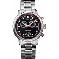Часы-хронограф наручные мужские Aerowatch 87936 AA01M кварцевые с датой и тахиметром, на стальном браслете