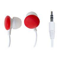 Наушники вкладыши проводные без микрофона Smartfortec SE-102 Red