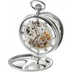 Часы карманные Aerowatch 57819 AA01 механические, скелетон, с двумя крышками