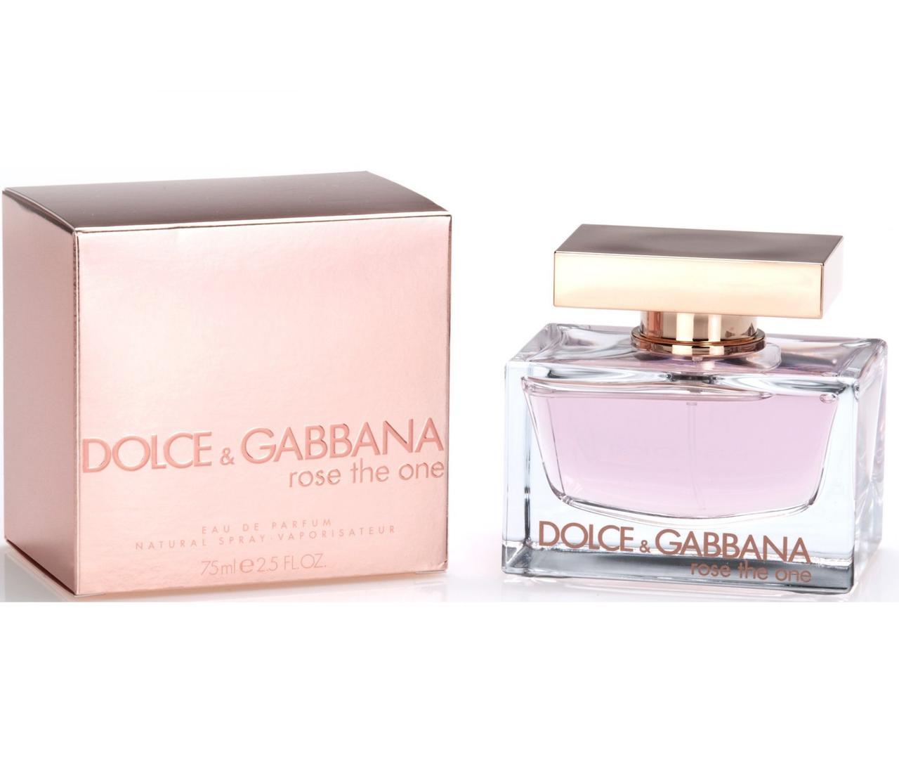 Dolce & Gabbana Rose The One Парфюмированная вода EDP 75ml (Дольче Габана Роуз Зе Ван) Женский Парфюм Духи EDT