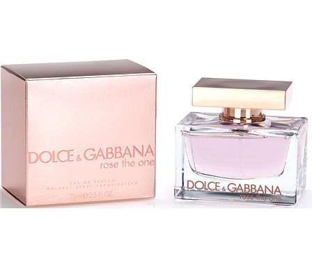 Dolce & Gabbana Rose The One Парфюмированная вода EDP 75ml (Дольче Габана Роуз Зе Ван) Женский Парфюм Духи EDT, фото 2