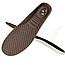 Стельки обрезные для спортивной обуви мужской размер 41-45 коричневые, фото 4