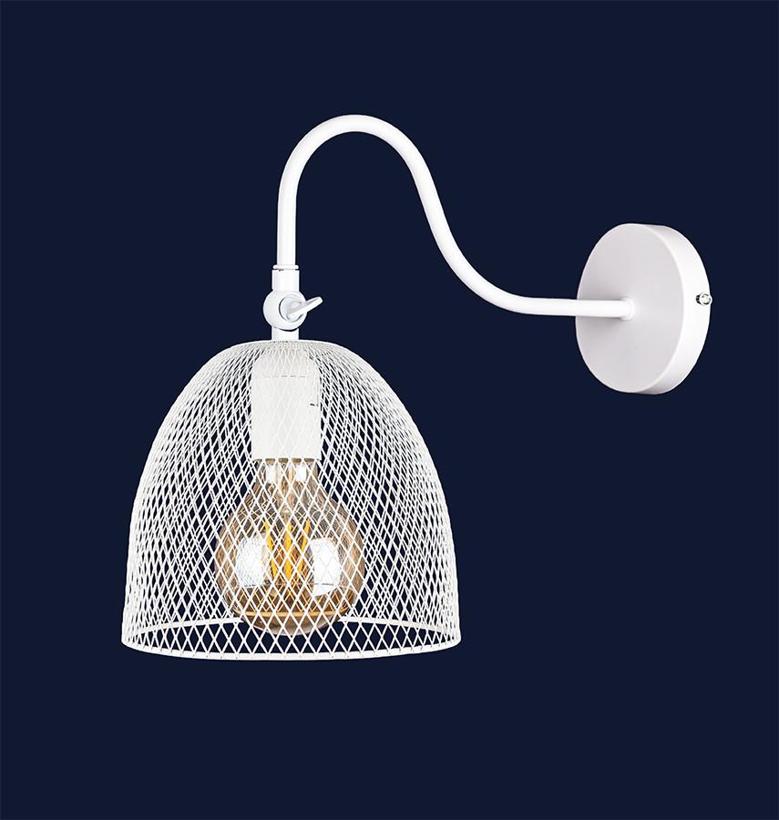 Білий настінний світильник 907W013F3-1 WH