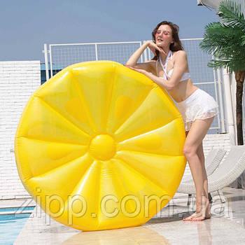 Надувний матрац Лимон (143 см)