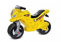 Мотоцикл 2-х колесный с сигналом Орион 501в.3Л Желтый tsi30552, КОД: 1486198